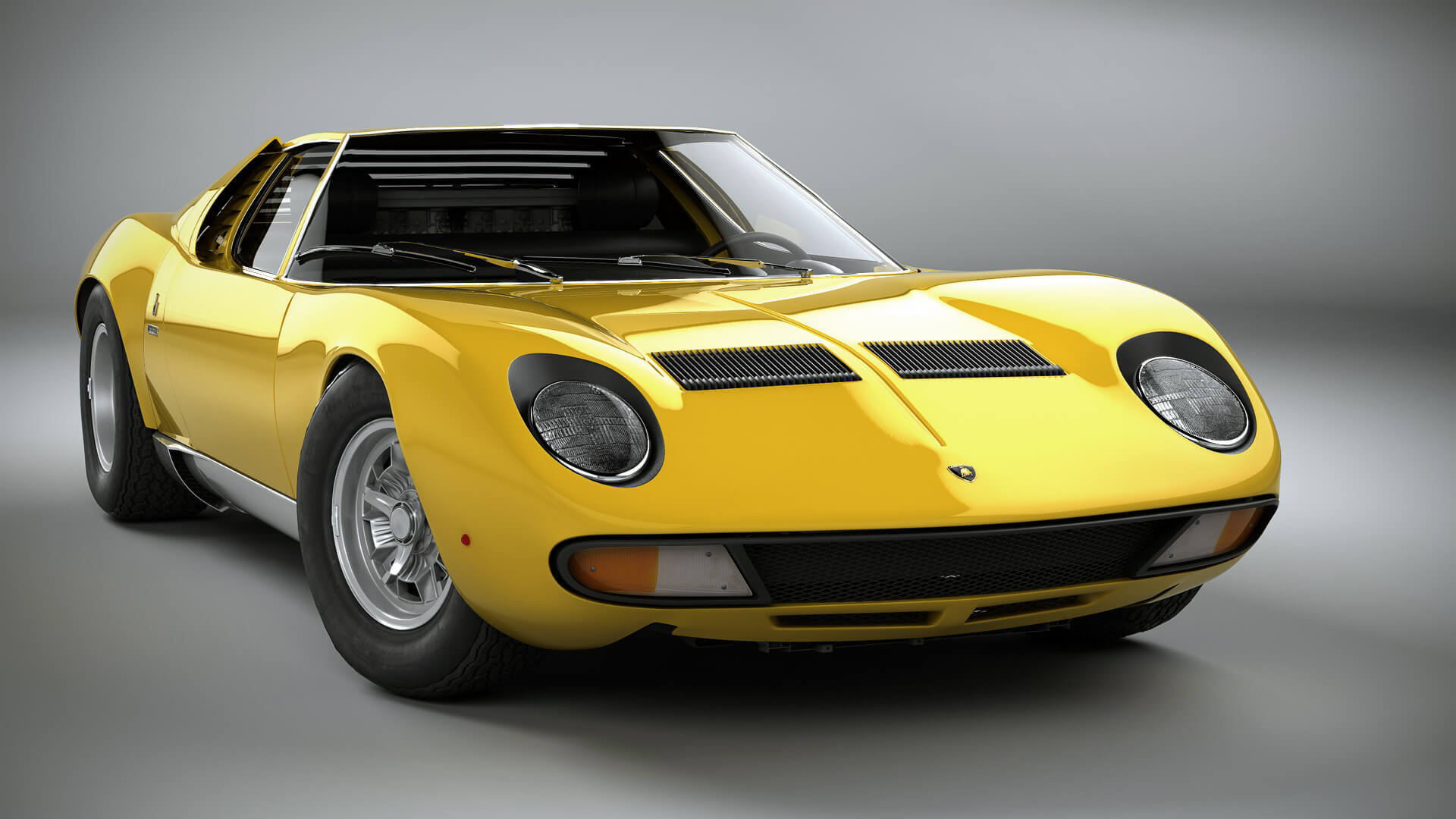 Things you didn't know about Lamborghini;  Lamborghini Miura