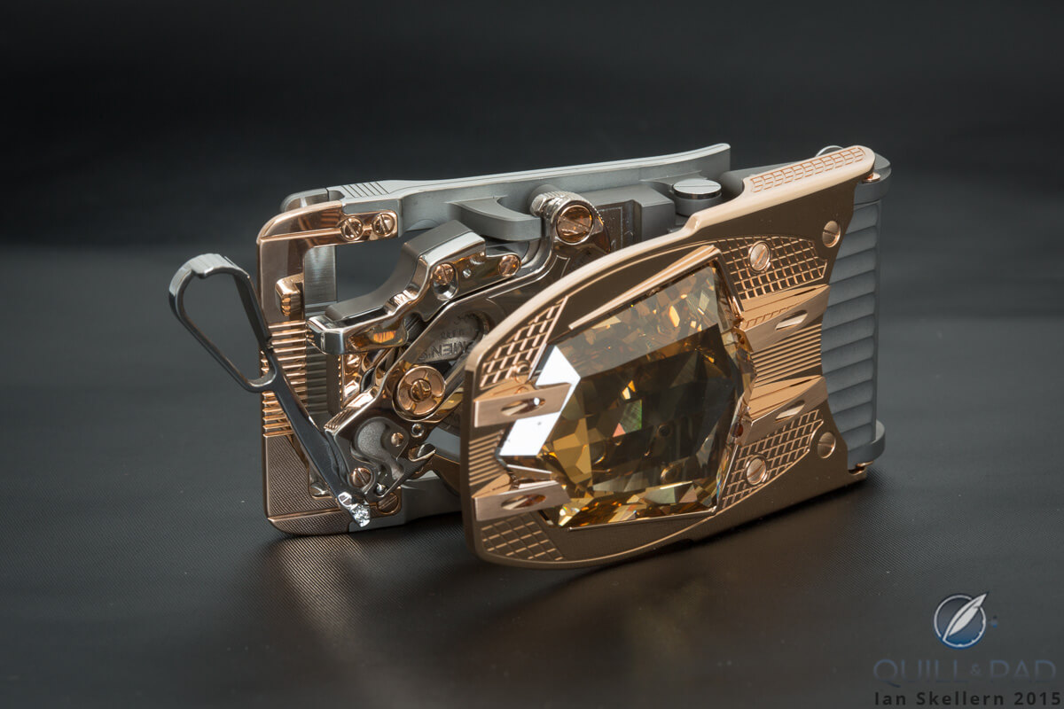 60.66 Carat Diamond Buckle