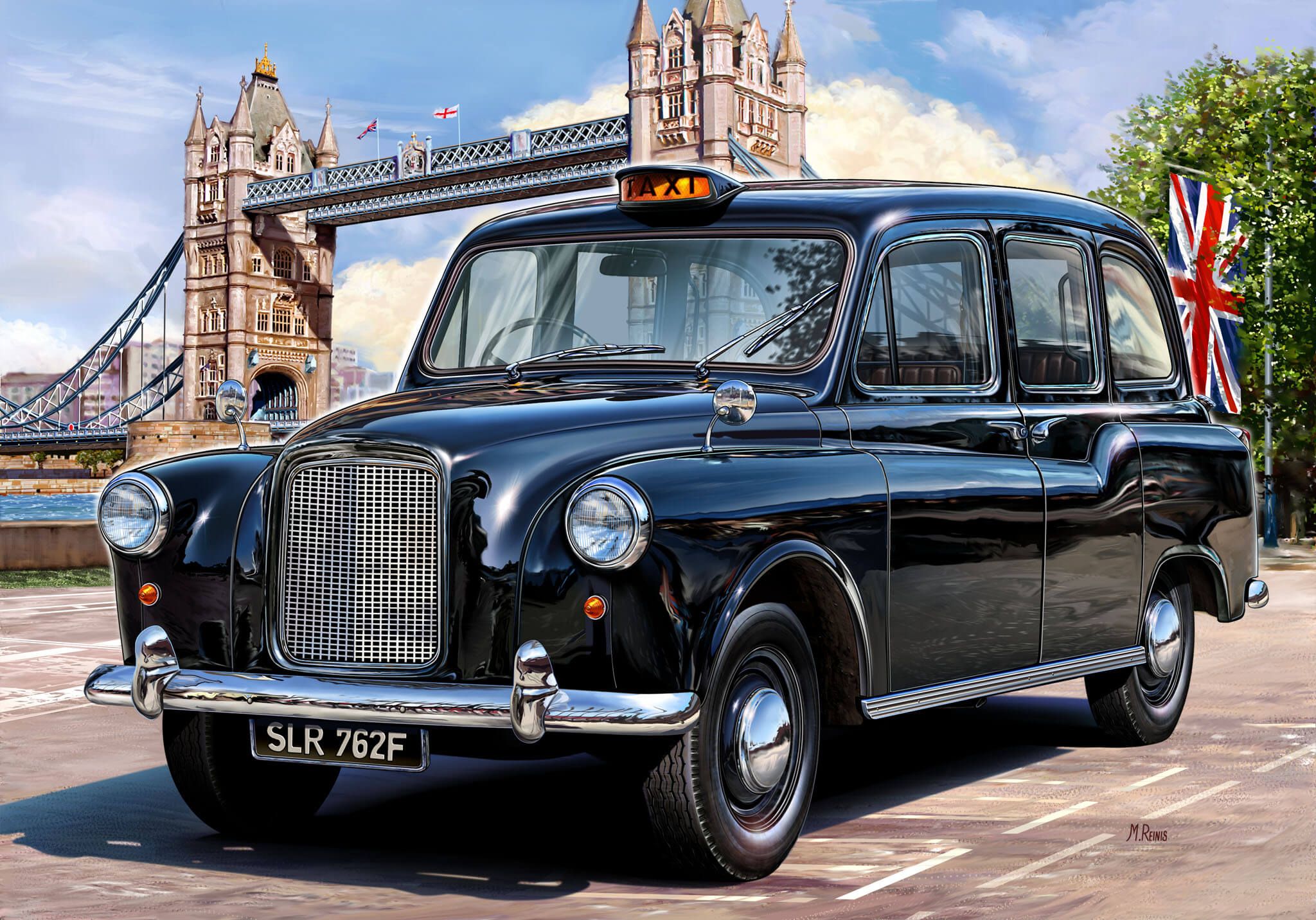 #8 London, UK | Cities With The Highest Airport Taxi Fares | Image Source: gizzmoheaven.com