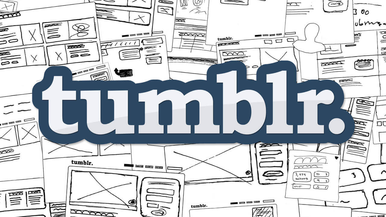 #9 Tumblr | Companies Who Rule The Tech World | Image Source: fontsinuse.com