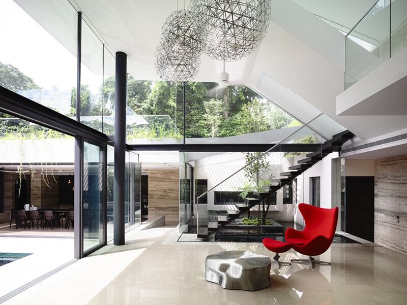 Andrew Road Residence Features A Luxurious Design 13