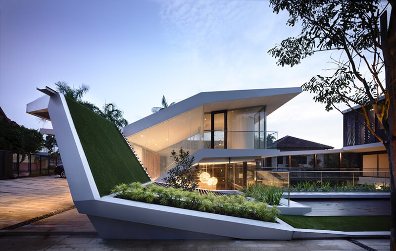 Andrew Road Residence Features A Luxurious Design 2
