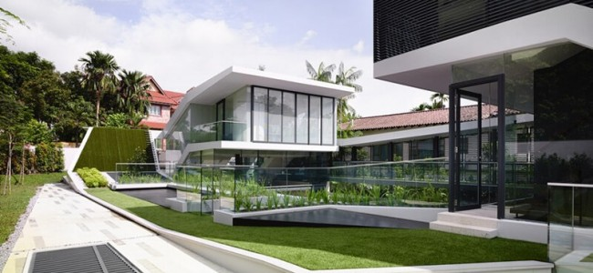 The Andrew Road Residence From Singapore Offers a Luxurious And Modern Design