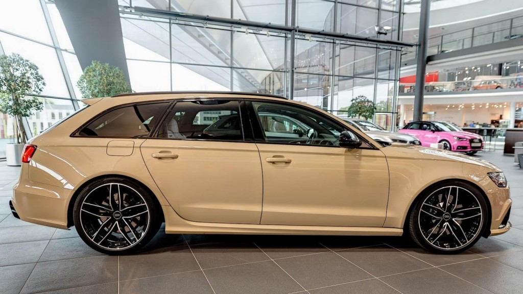 """Audi RS6 Is The First Car With New Exclusive """"Mocha Latte"""" Paint Finish"""
