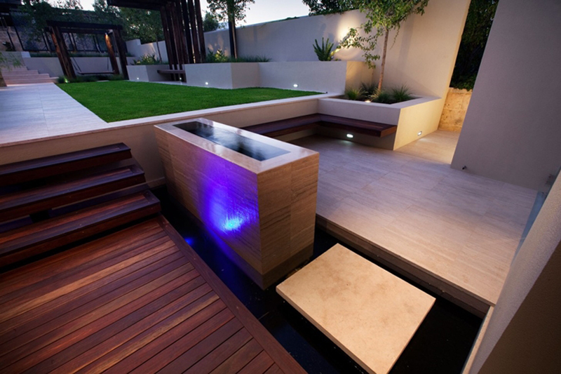 Bicton Residence Features A Luxury Backyard 3