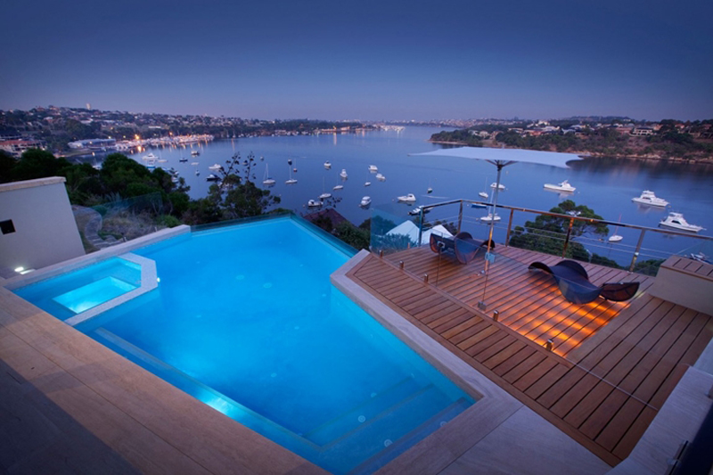 Bicton Residence Features A Luxury Backyard 4