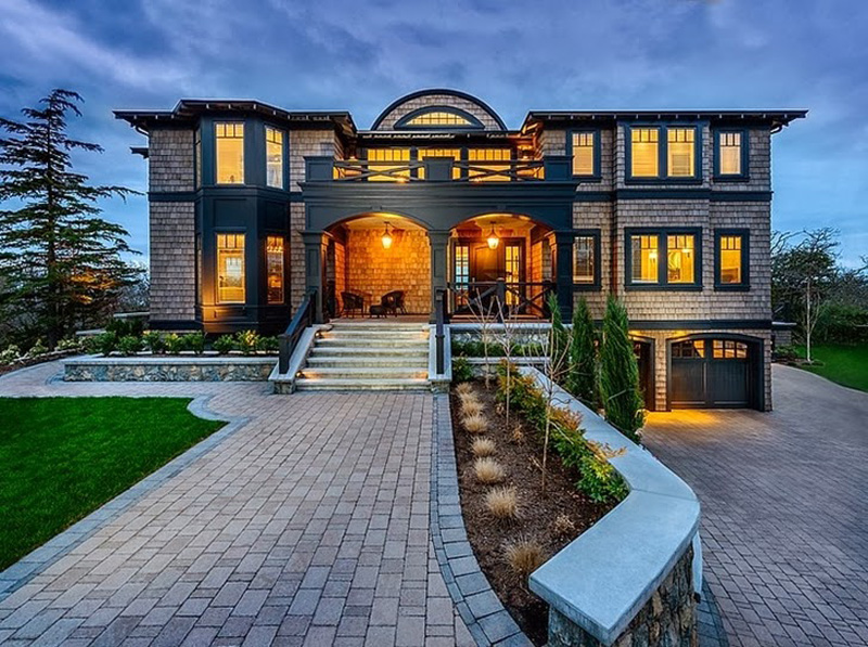 Canadian Beach Home Features A Luxury Design 1