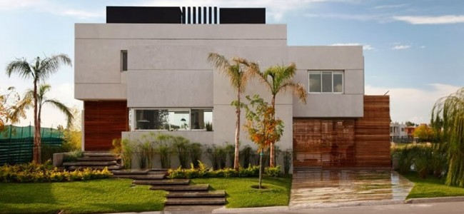 The Luxurious And Modern Casa Del Cabo From Buenos Aires Offers Mesmerizing Lake Views