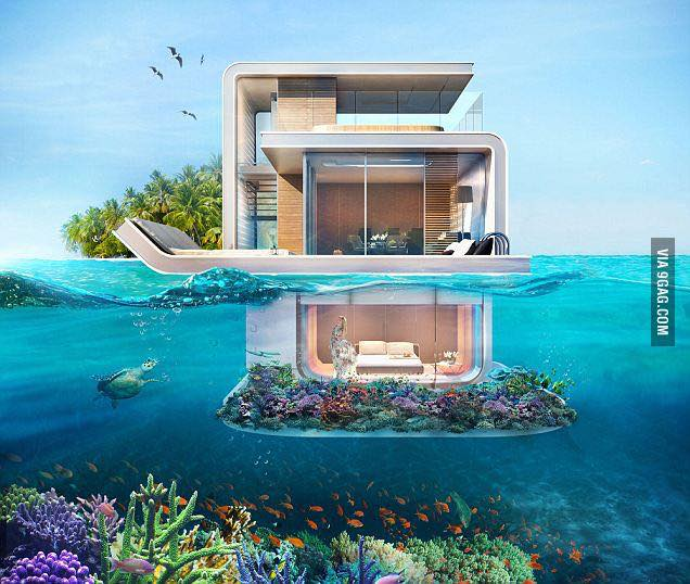Dubai Set To Get Luxury Floating Private Island Villas