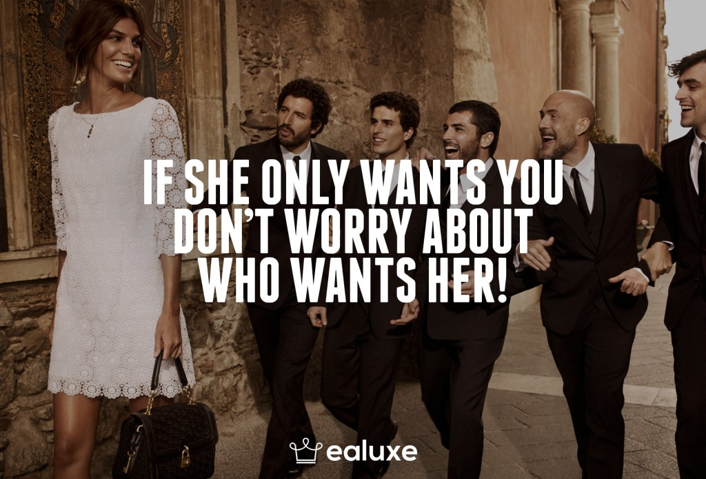 Ealuxe 100 quotes on motivation success overcoming obstacles and life get inspired (20) If she only wants you don't worry about who wants her!