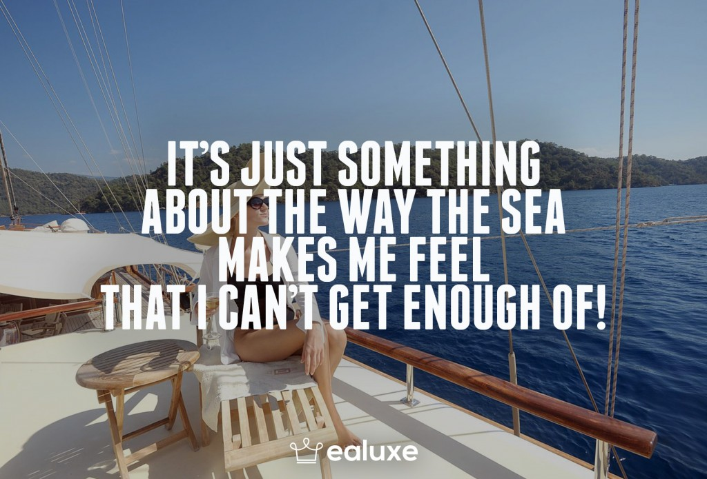 Ealuxe 100 quotes on motivation success overcoming obstacles and life get inspired (41) It's just something about the way the sea makes me feel that I can't get enough of!