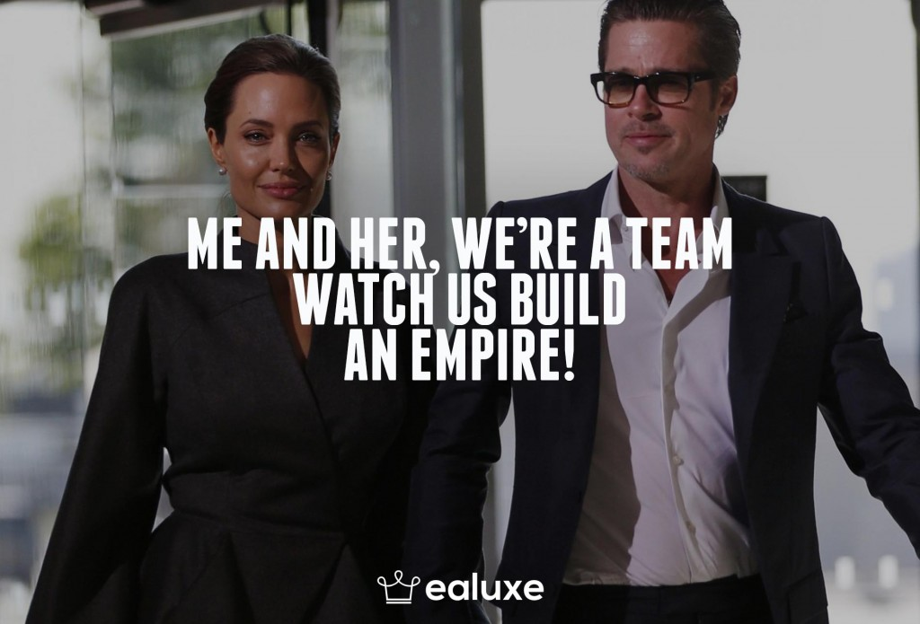 Ealuxe 100 quotes on motivation success overcoming obstacles and life get inspired (54) Me and her, we're a team, watch us build an empire!