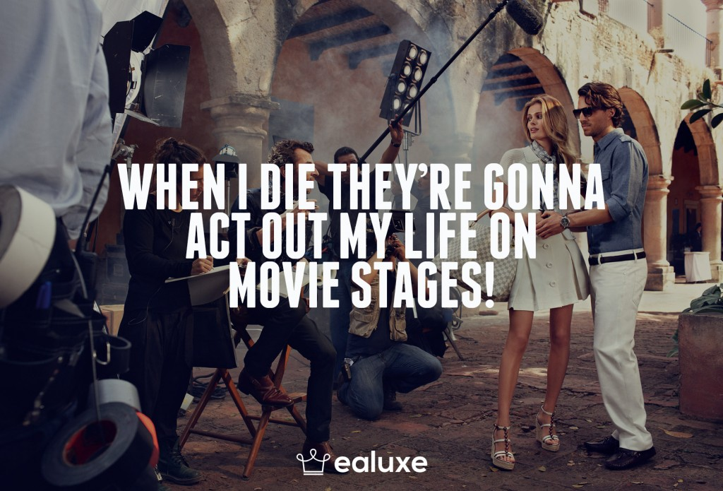 Ealuxe 100 quotes on motivation success overcoming obstacles and life get inspired (67) When I die they're gonna act out my life on movie stages!