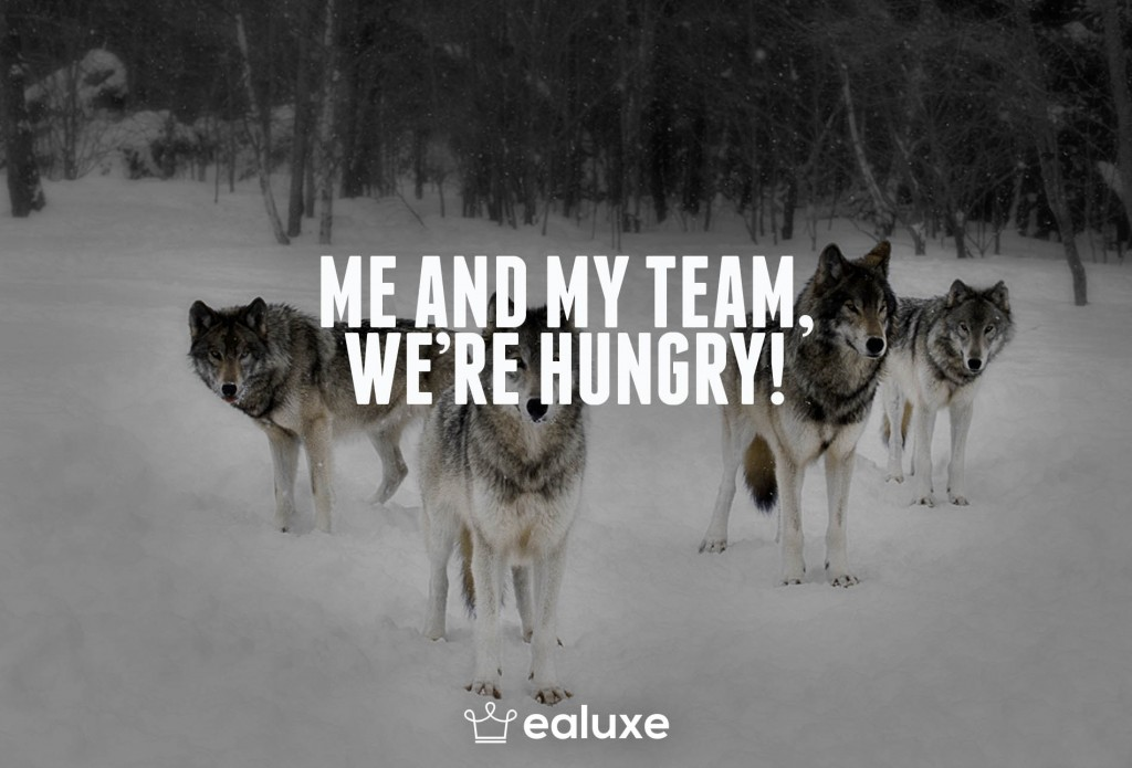 Ealuxe 100 quotes on motivation success overcoming obstacles and life get inspired (75) Me and my team we're hungry!