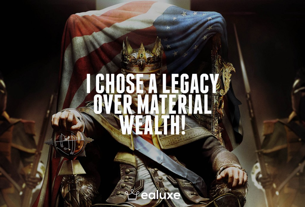 Ealuxe 100 quotes on motivation success overcoming obstacles and life get inspired (79) I chose a legacy over material wealth!