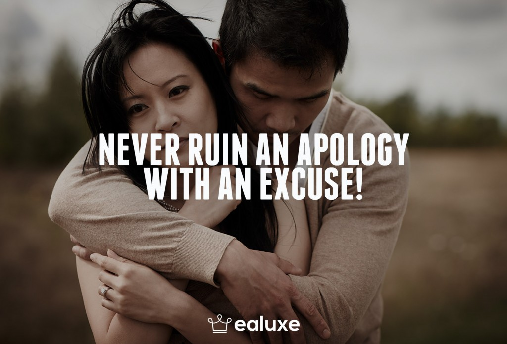 Ealuxe 100 quotes on motivation success overcoming obstacles and life get inspired (89) Never ruin an apology with an excuse!