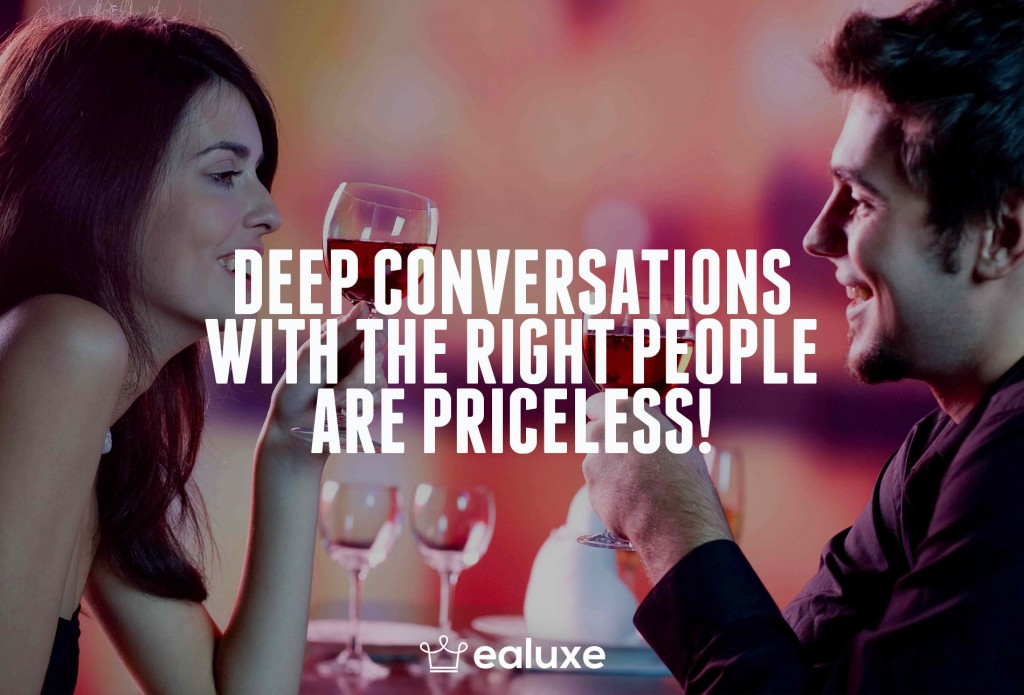 Ealuxe 100 quotes on motivation success overcoming obstacles and life get inspired (98) Deep conversations with the right people are priceless!