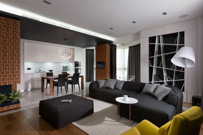 Graphite Penthouse Features A Luxury Interior Design 2