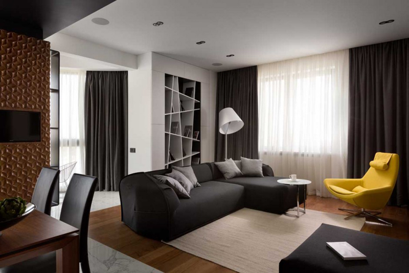 Graphite Penthouse Features A Luxury Interior Design 4