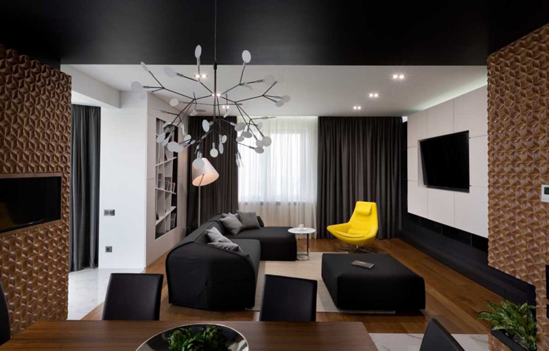 Graphite Penthouse Features A Luxury Interior Design 6