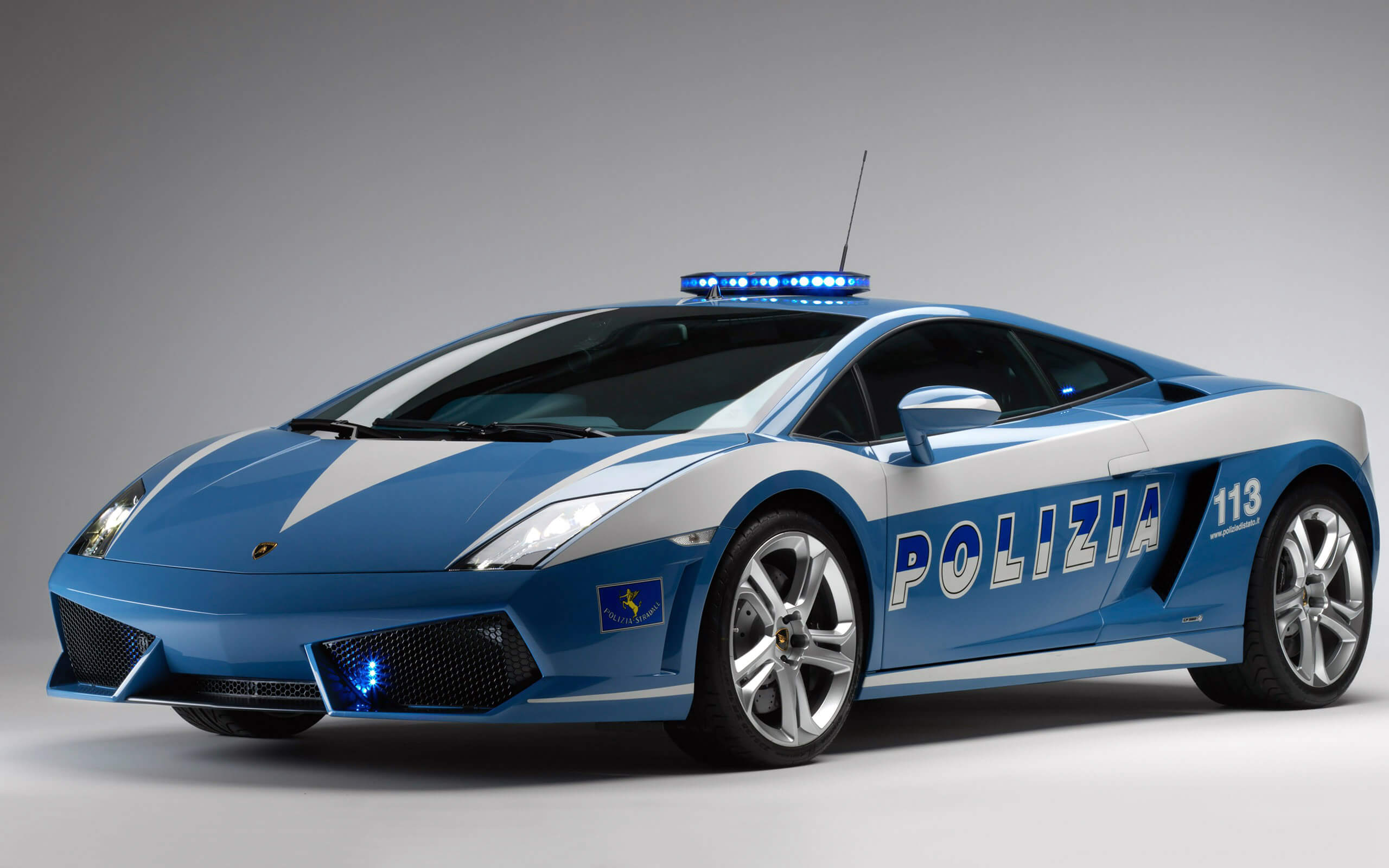 Things you didn't know about Lamborghini; Lamborghini Gallardo Police Car