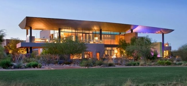 A Modern Luxury Home From Las Vegas Features An Exquisite Luxury Design
