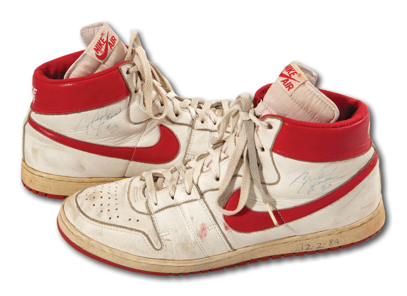 Michael Jordan's Nike Airs Sold for a Almost $100k