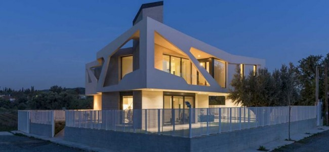 Paradox House – A Marvelous Contemporary Family Home From Greece Designed By Klab Architecture