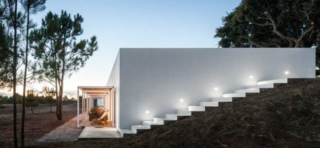 Pe No Monte – A Luxurious Rural Tourism Property From Portugal Designed By [i]da arquitectos
