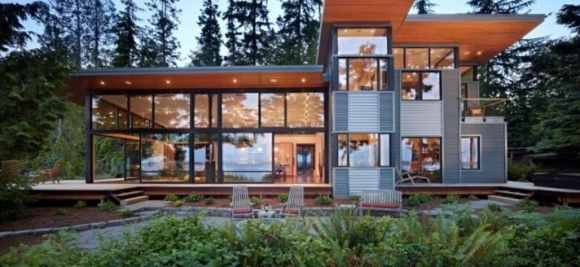 The Port Ludlow Residence Is A Luxurious Waterfront Property In Washington State