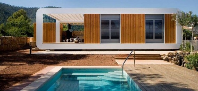 A Modern Prefabricated Home From Spain Shows Us How Luxury Can Be Implemented