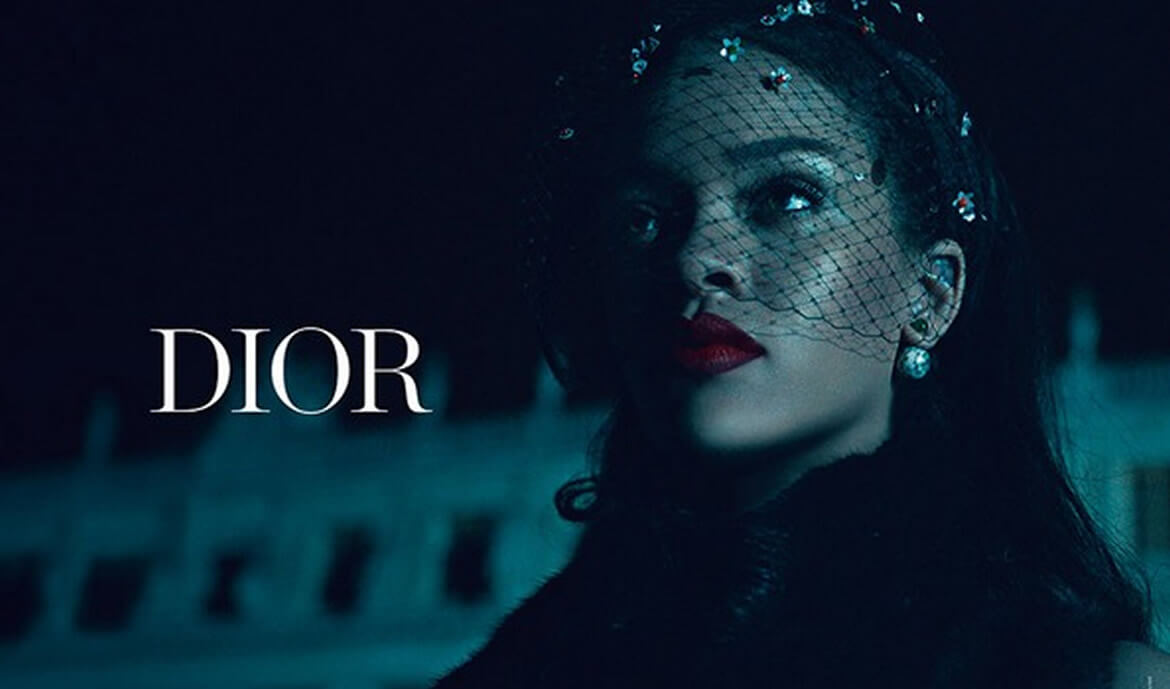 Rihanna's New Secret Garden Campaign with Dior Looks Great!