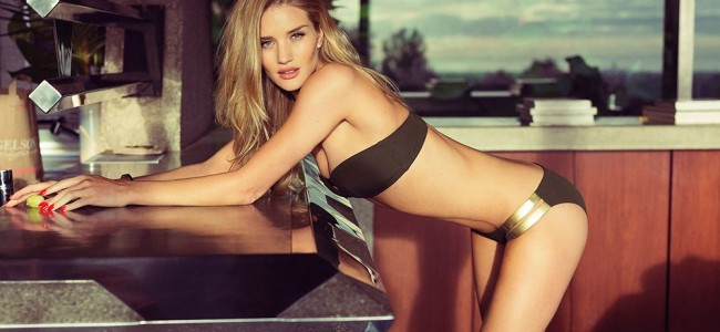 Rosie Huntington Whiteley's HOT Photo Shoot for Esquire UK