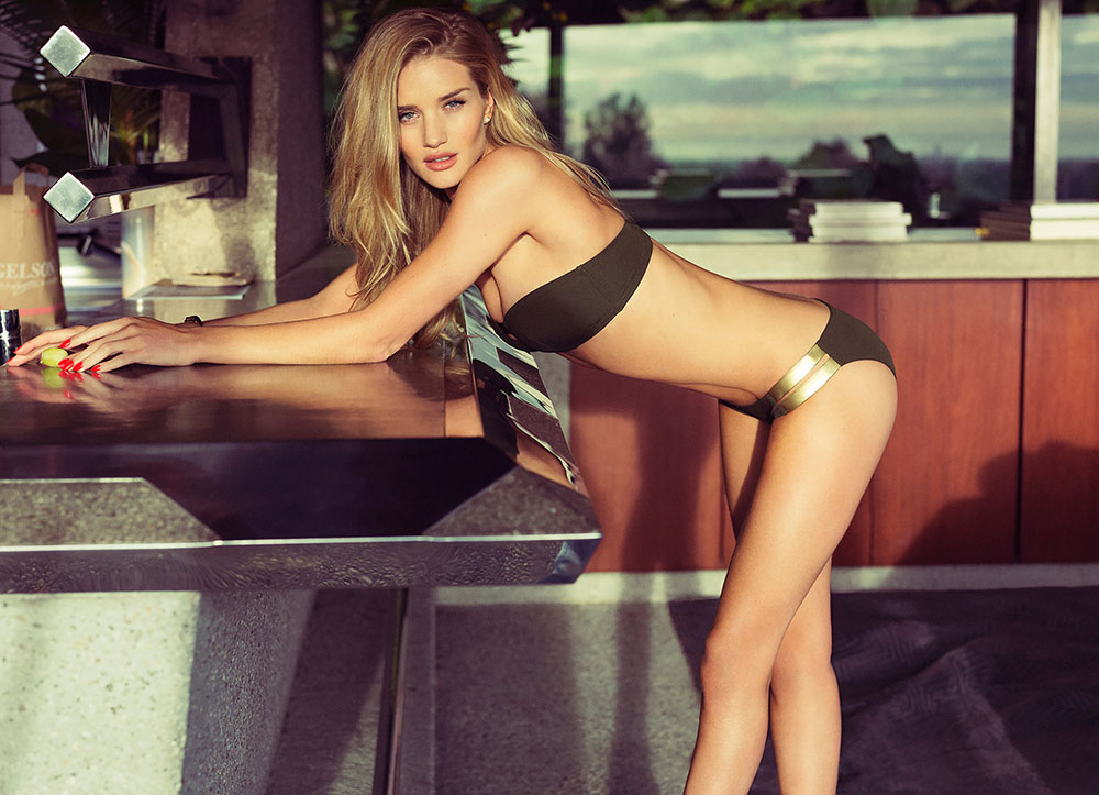 Rosie Huntington Whiteley's HOT Photo Shoot for Esquire UK ealuxe (1)