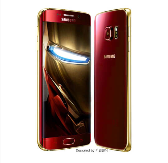 Samsung Teases an Iron Man Edition of the Galaxy S6 Edge