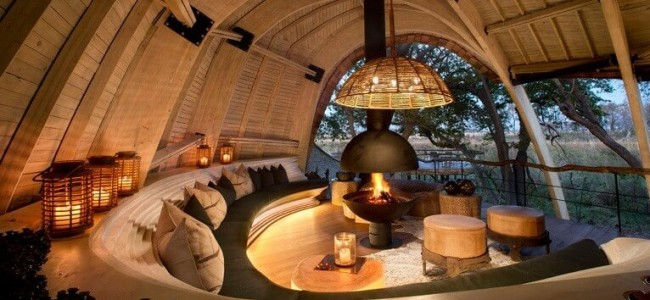 The Sandibe Okavango Is A Luxurious Sustainable Safari Lodge In Botswana