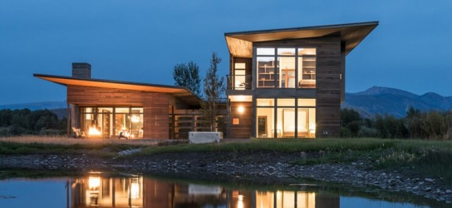 Shoshone Residence In Wyoming is the Perfect Luxury Getaway