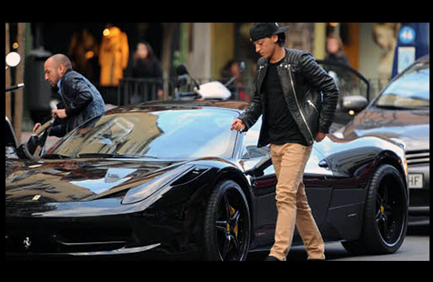 The 10 Most Expensive Footballers' Cars