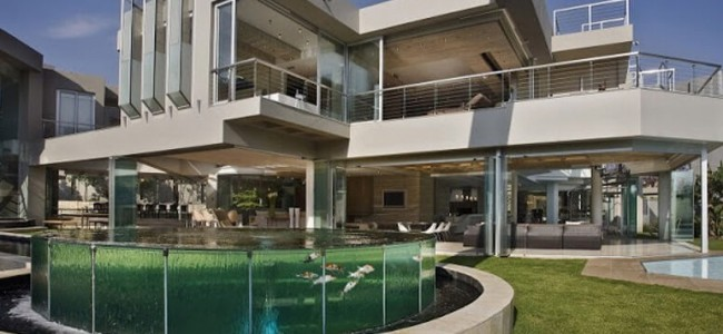The Glass House – Modern And Luxurious Residence From South Africa Designed By Nico van der Meulen Architects