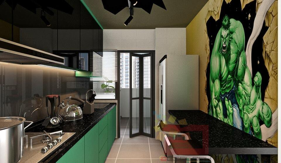 This Amazing Avengers-Themed Apartment Is What Every Geek Wants