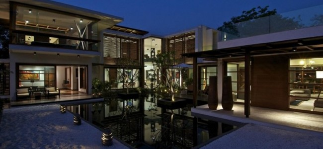 This Courtyard Residence Is A Contemporary Dream Home Designed By Hiren Patel Architects In India
