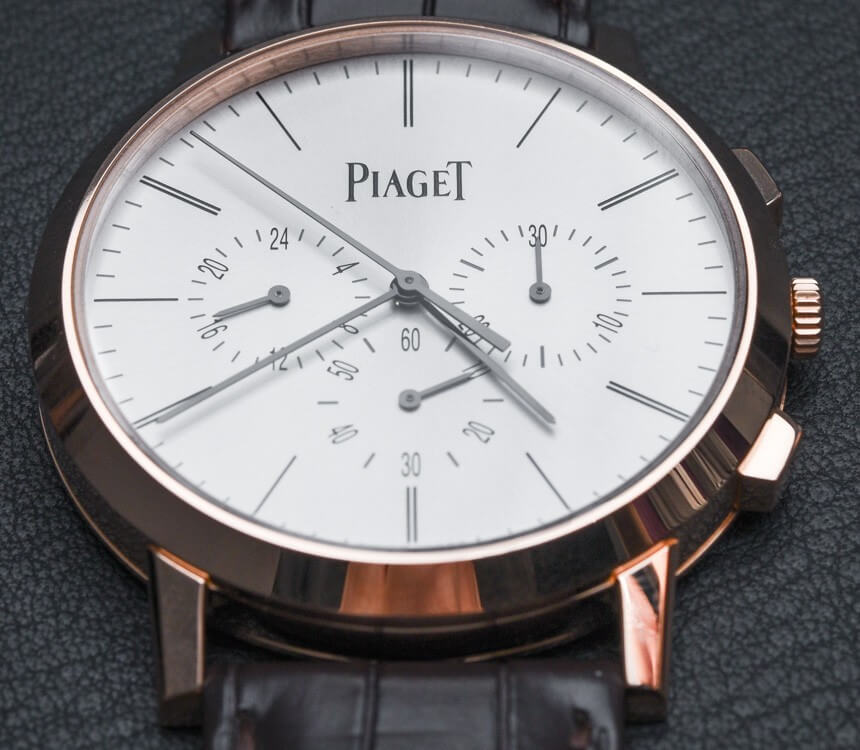 This Piaget Altiplano Chronograph is an Elegant Watch Priced at $29k Piaget-Altiplano Chronograph Ultra-Thin