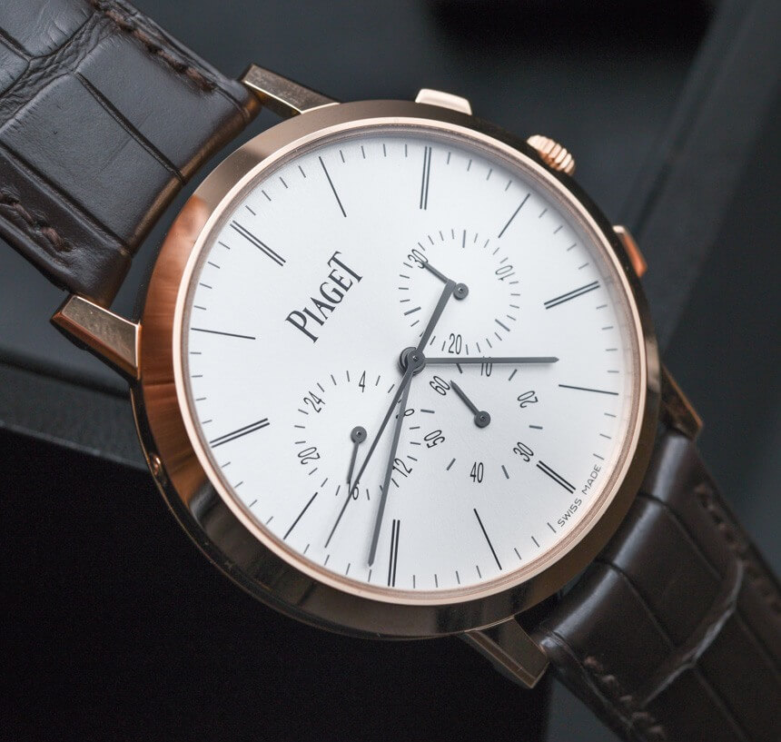 This Piaget Altiplano Chronograph is an Elegant Watch