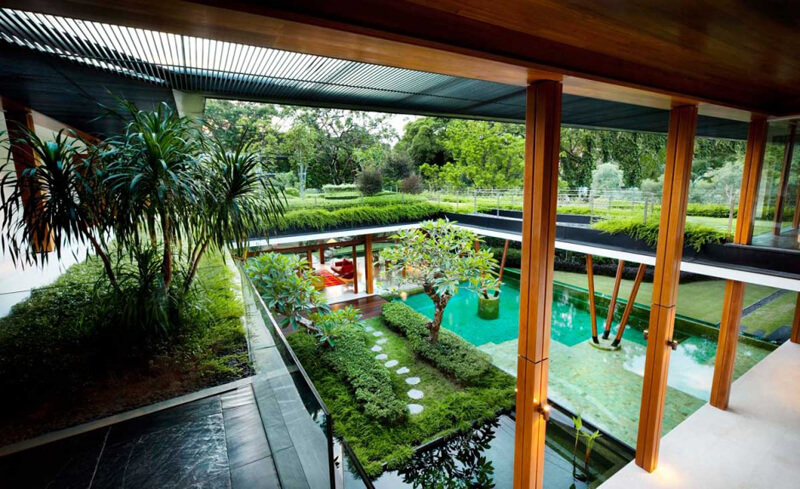 Water Lily House Features A Luxury Landscape - EALUXE 4