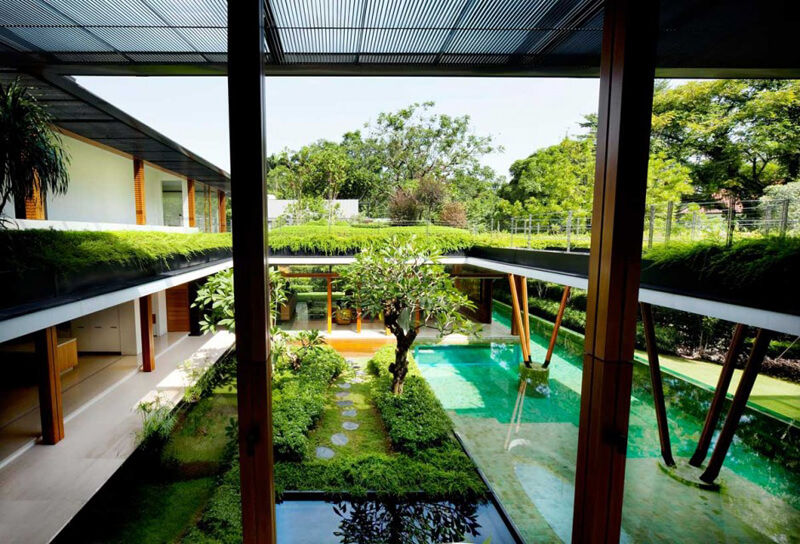 Water Lily House Features A Luxury Landscape - EALUXE 5