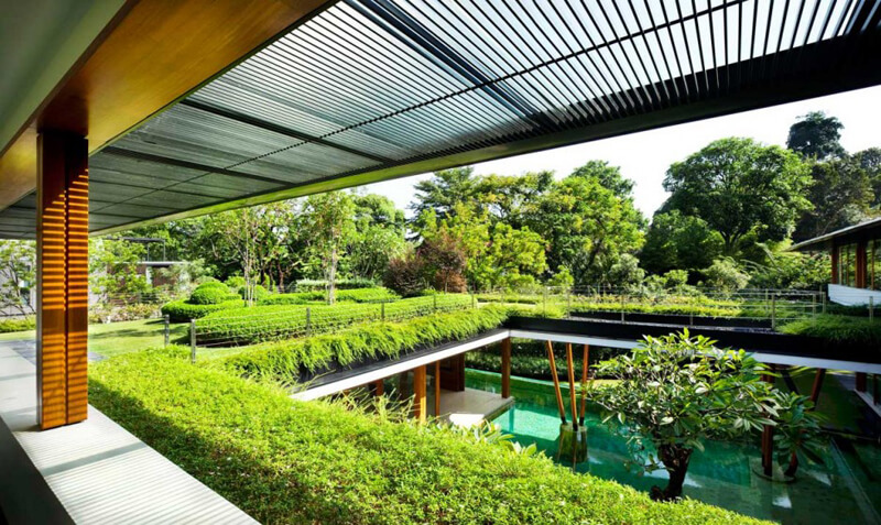 Water Lily House Features A Luxury Landscape - EALUXE 6