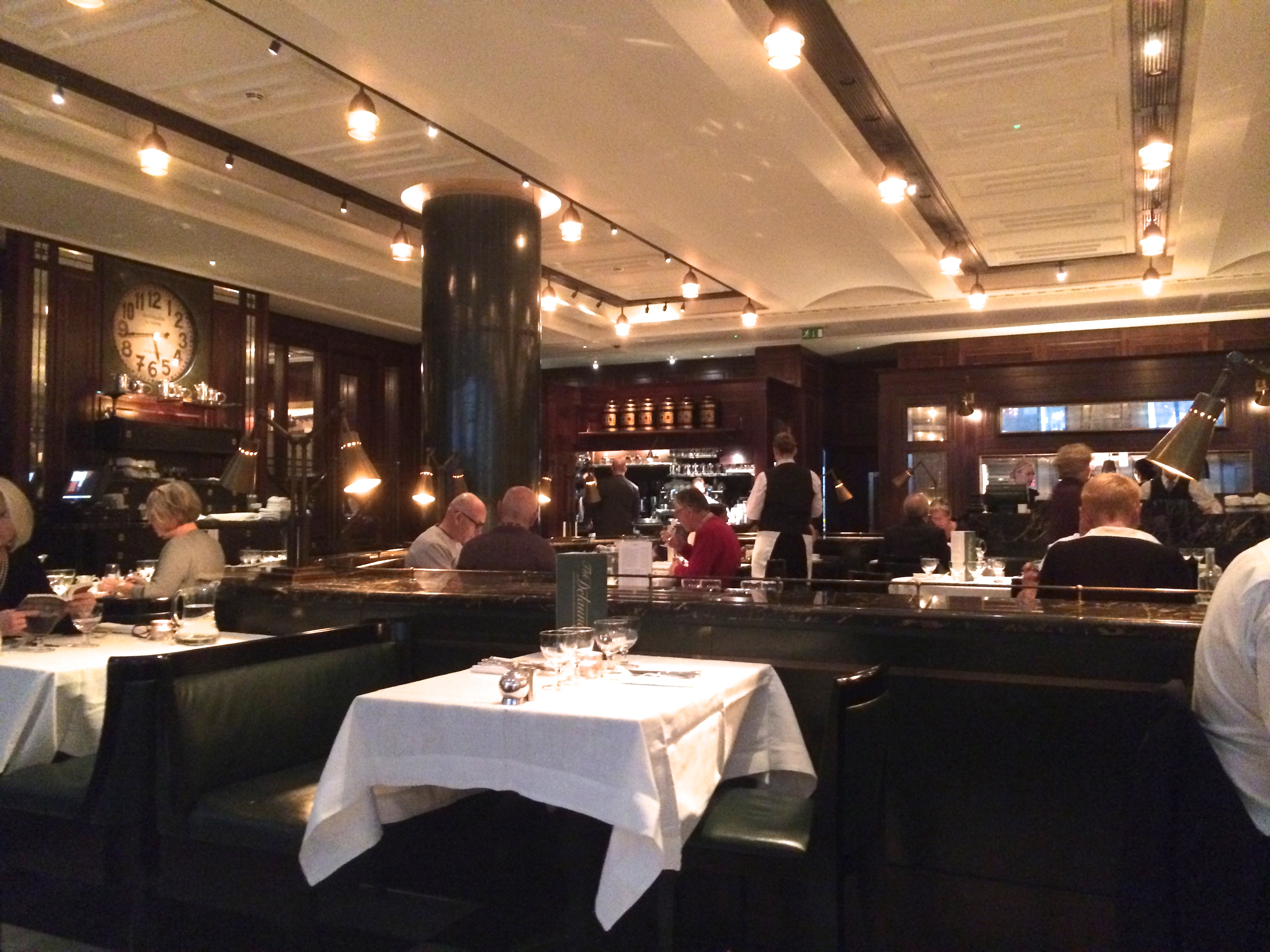 most romantic restaurants in london; The Delaunay dining room