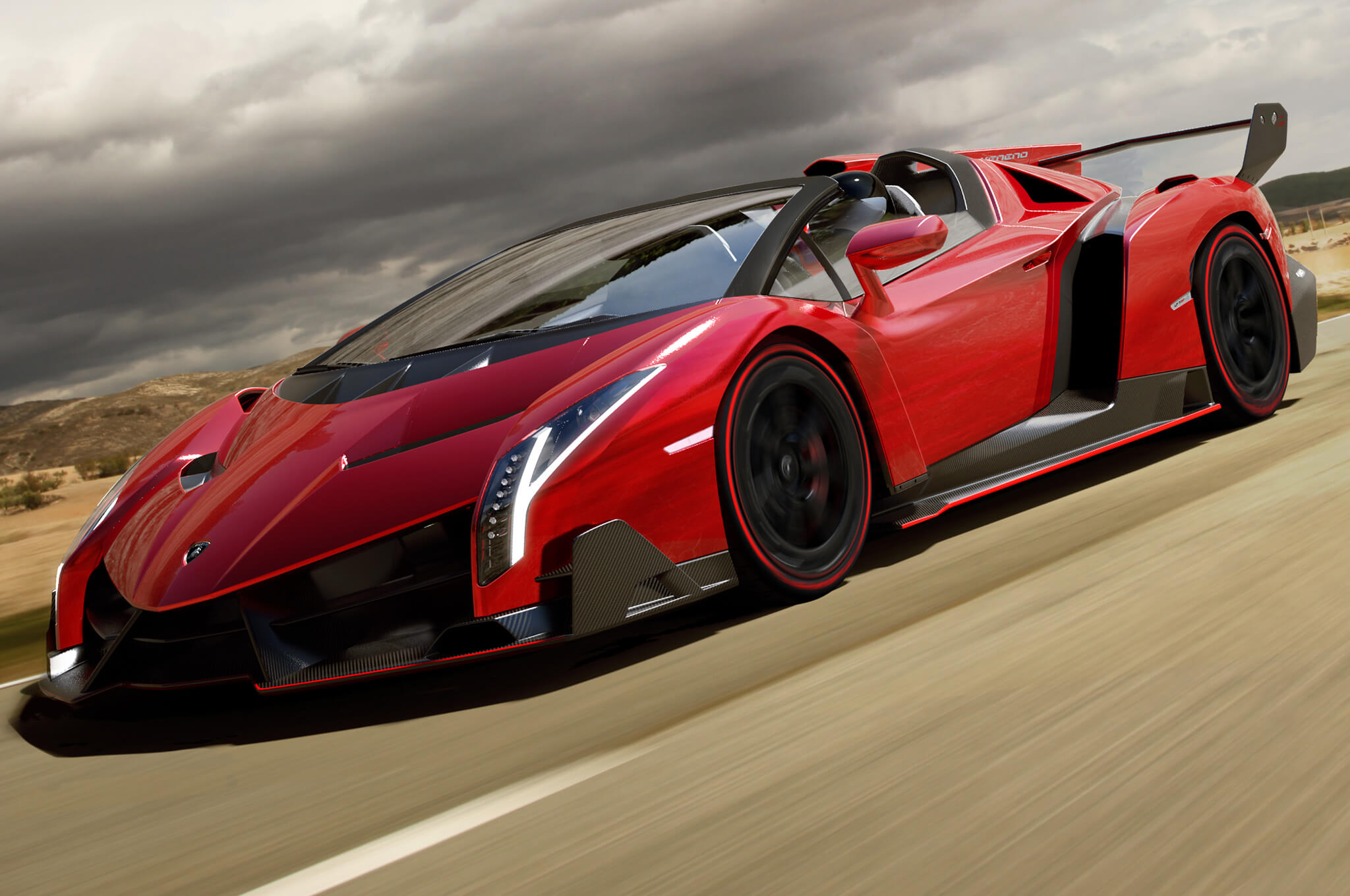 Things you didn't know about Lamborghini; Veneno Roadster