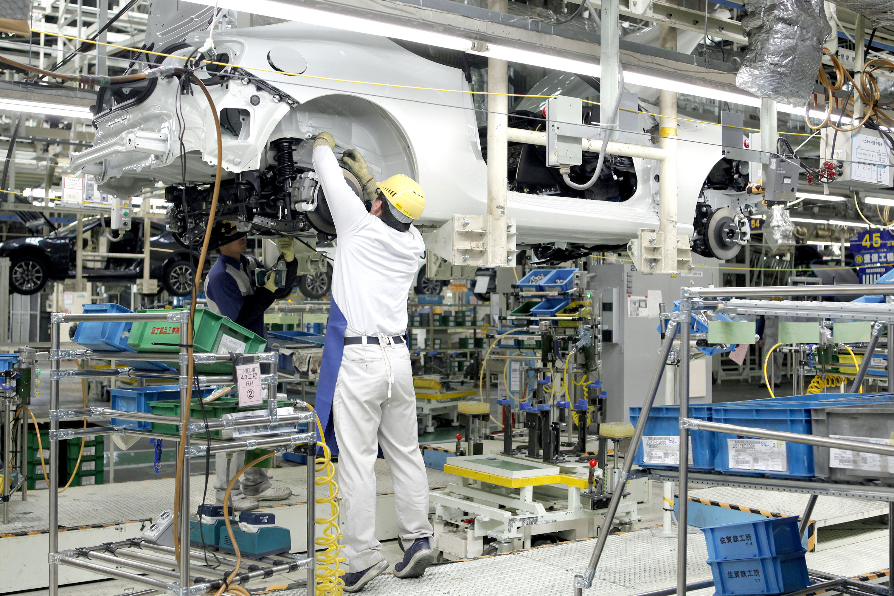 Things you didn't know about Toyota; Toyota factory