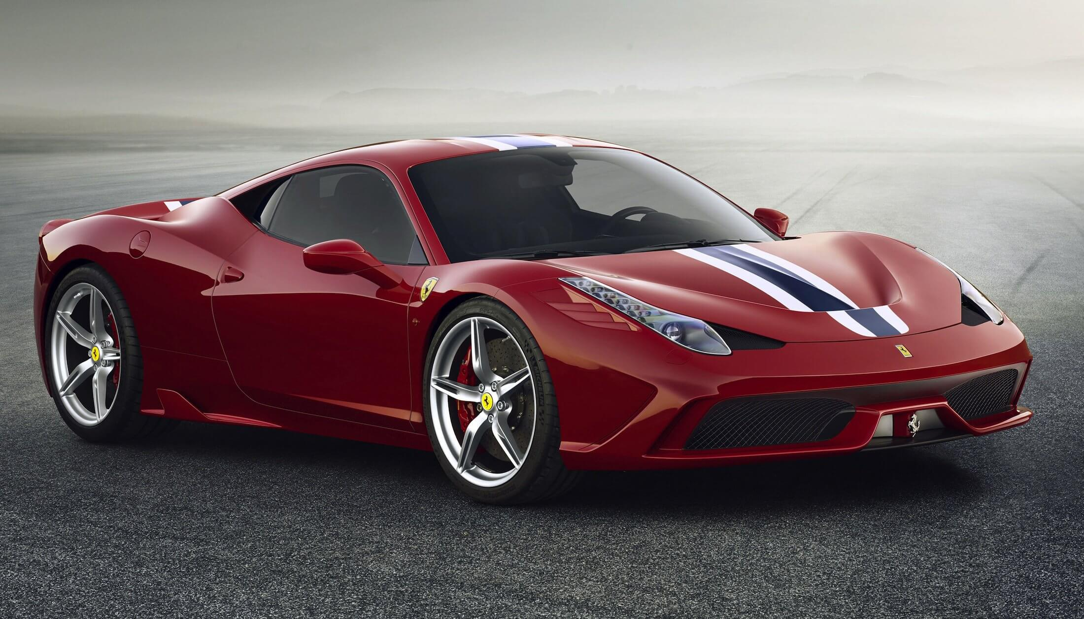 #10 Ferrari 458 Speciale | Super Expensive Rental Cars | Image Source: caradvice.com.au